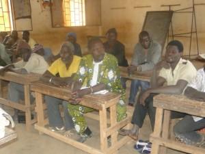 Réunion de l'association 2AEFE à Kalagué