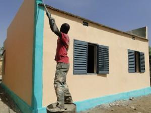 La nouvelle classe de Kalagué reçoit sa couche de peinture