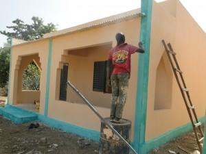 Travaux de peinture de la nouvelle de Kalague 20.12.2014
