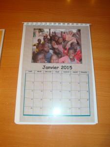 calendriers fabriqués par les élèves
