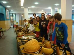 La classe de Corinne (cycle 3) vient visiter l'exposition