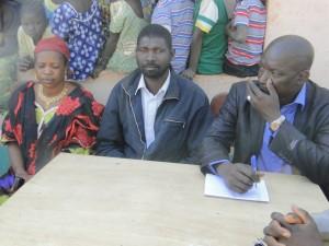 Delegation de 2AEFE à Kalagué l