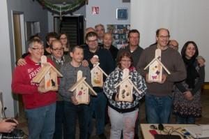 Les résidents de l'épad fiers de leur travail : félicitations !