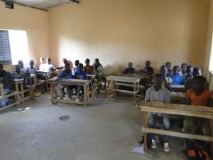 29.01.2016 Eleves de Kalague dans la classe financee par SEM